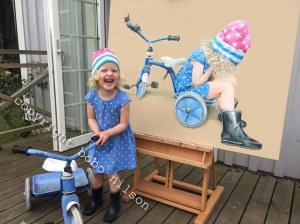 Hanna trehjuling copyright